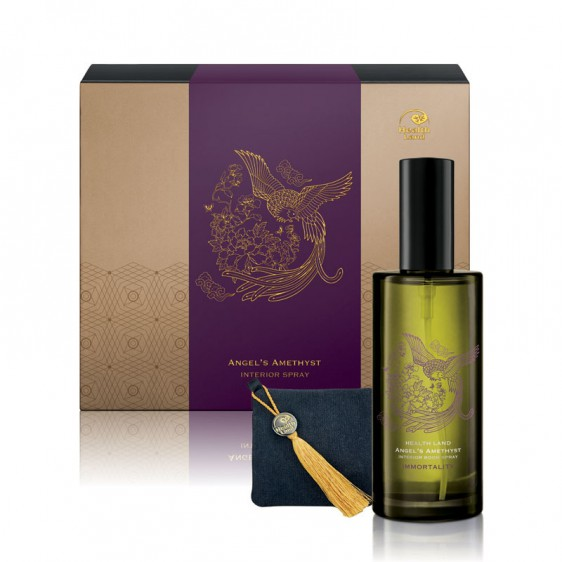 Angel's Amethyst Interior Room Spray and Aroma Sachet Set