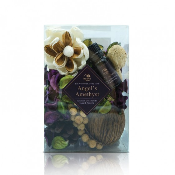 Angel's Amethyst Pot Pourri with Aroma Scent