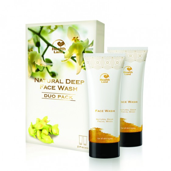Natural Deep Face Wash Duo Pack