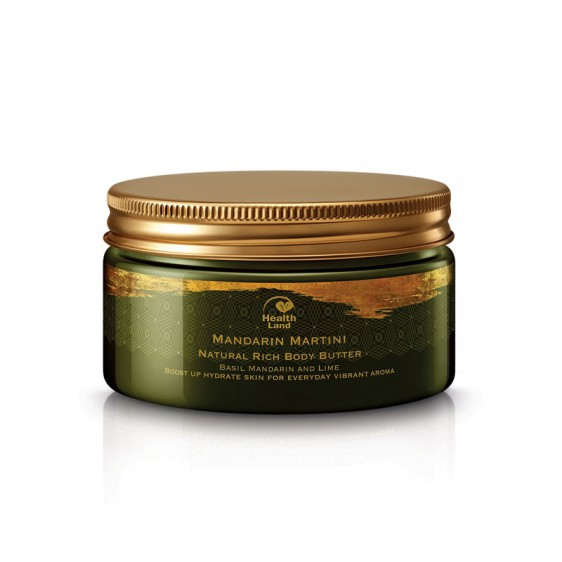 Mandarin Martini Natural Rich Body Butter