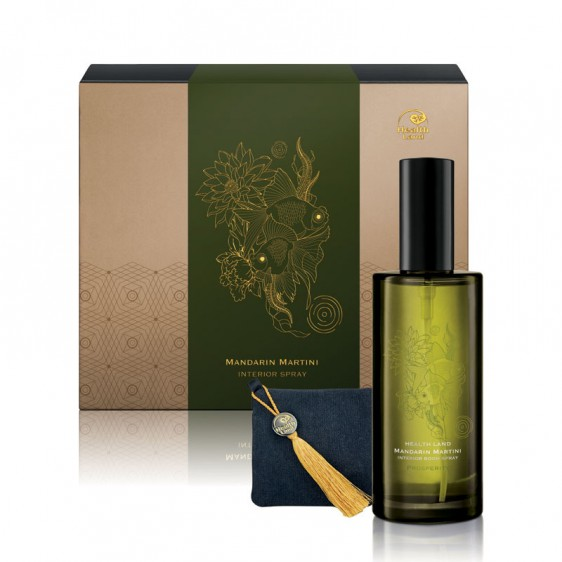 Mandarin Martini Interior Room Spray and Aroma Sachet Set