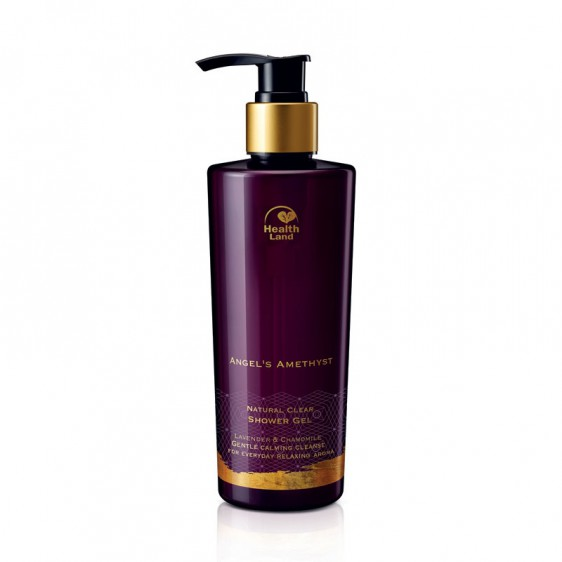 Angel's Amethyst Natural Clear Shower Gel