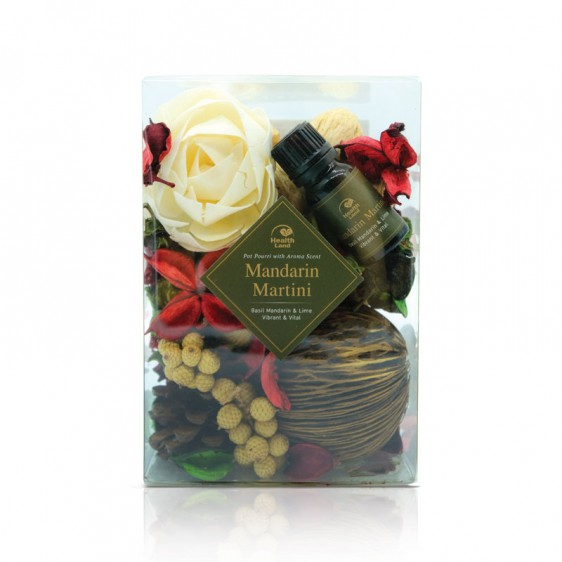 Mandarin Martini Pot Pourri with Aroma Scent